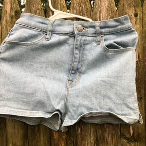 Urban Outfitters Light Washed Blue Jean Shorts